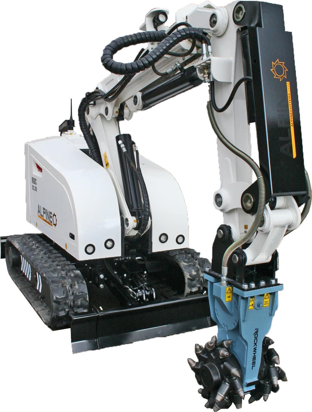 RDC Demo Robot with Rockwheel G5